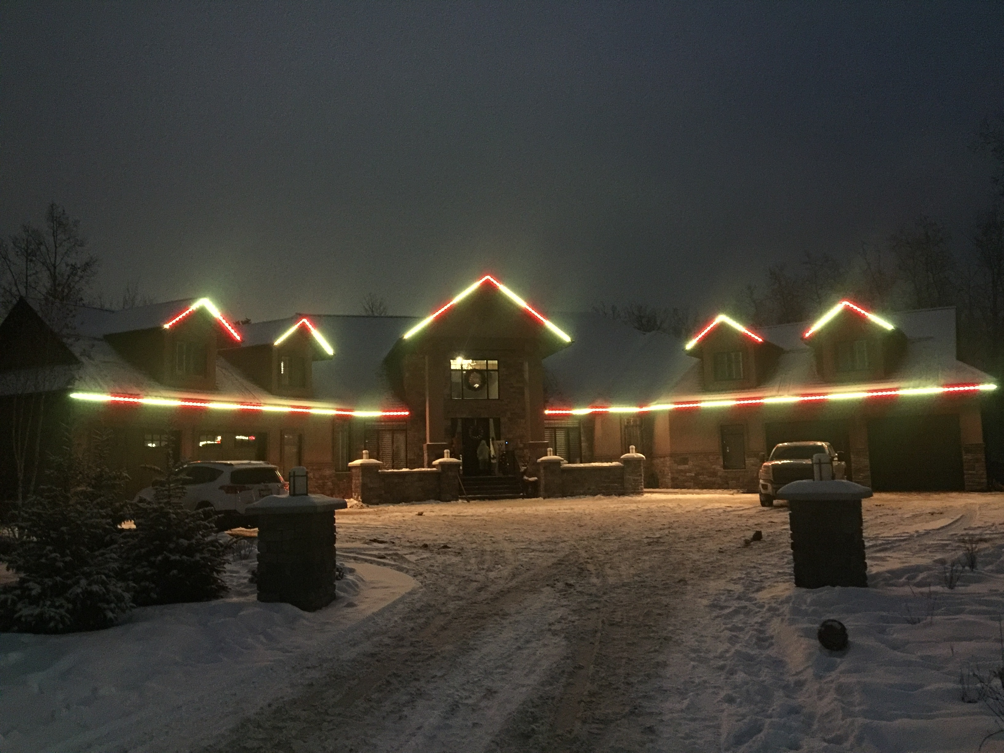 By Using Leds For Their Fancy Christmas Lighting, Toronto Homeowners Get The Best Of All Possible Worlds!